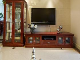 中式客厅背景墙装修图片