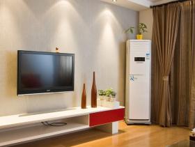 现代实用客厅背景墙设计