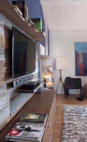 宜家客厅木质案例