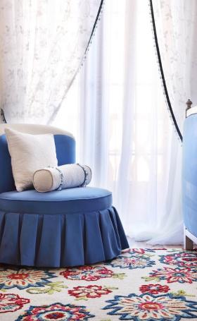 宜家设计装修家居卧室窗帘