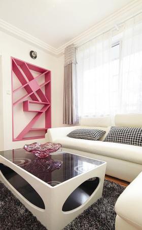 时尚现代家庭客厅设计