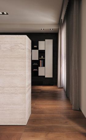 现代室内窗帘装饰效果图