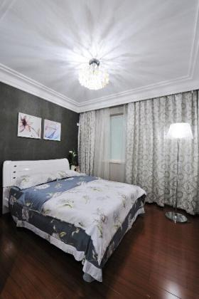 简欧卧室窗帘设计