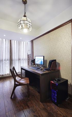 新古典原木书房装修