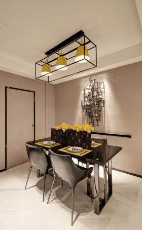 现代时尚家庭餐厅设计