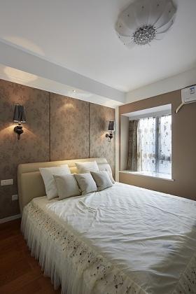 简欧舒适卧室设计图
