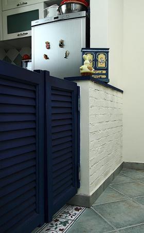 地中海厨房装修隔断设计