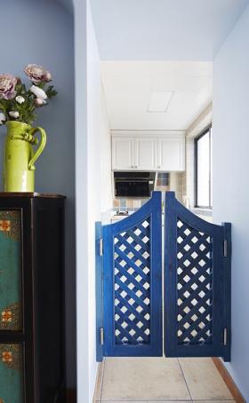 地中海风格厨房隔断装潢