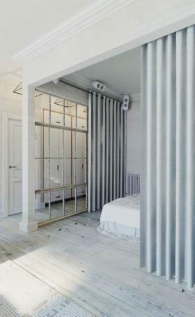 低调欧式卧室隔断设计