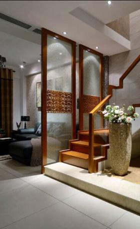 古色古香中式楼梯设计