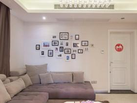 简约北欧客厅电视背景墙