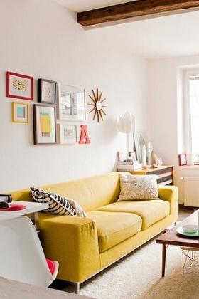 简欧温馨客厅设计