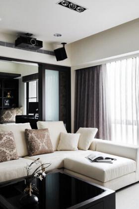 现代舒适客厅效果图片