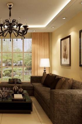 现代装饰客厅设计效果图