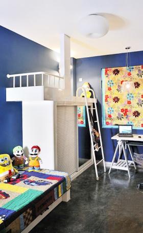 地中海儿童房设计效果
