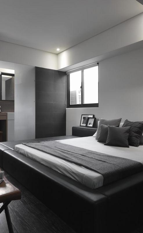 深灰现代卧室设计