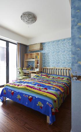 海洋地中海卧室效果图
