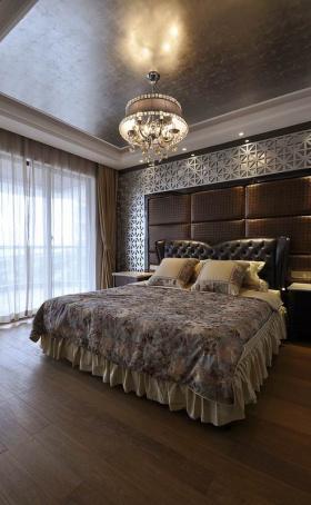 原木欧式贵族卧室设计
