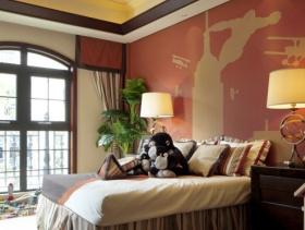 美式卧室吊顶设计