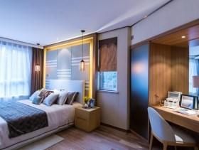 简约小户型卧室设计装修图片
