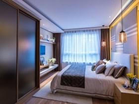 精致简约小户型卧室设计装修图片欣赏