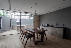 宜家原木风厨房设计