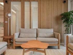 简约清新四居室设计室内装修图片