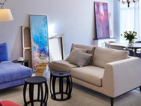 混搭现代风格二居室设计