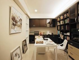 欧式别墅书房室内装饰设计效果图片