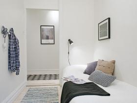 白色简约欧式卧室设计