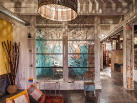 欧式风格客厅小公寓隔断设计