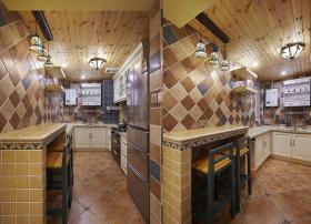 地中海家居装修厨房装修效果图