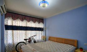 地中海设计温馨儿童房卧室窗帘