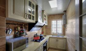 现代地中海厨房橱柜设计