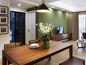 混搭宜家风格设计二居室效果图