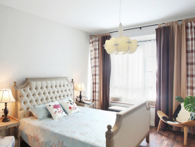 美式家居卧室吊顶