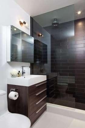 现代简约风格小户型卫生间效果图欣赏
