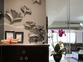 东南亚146平米三居室内装修图片大全