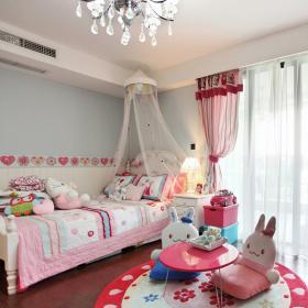 东南亚装修儿童房图片