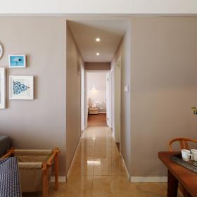 现代简约欧式小户型室内过道效果图片