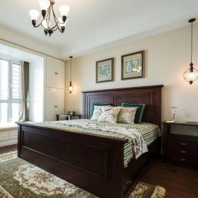 复古美式卧室设计