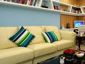 时尚混搭风格二居室设计效果图