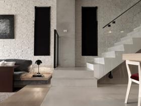 复式简约室内楼梯家装效果图欣赏