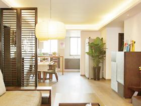 宁静中式三居设计装修效果图