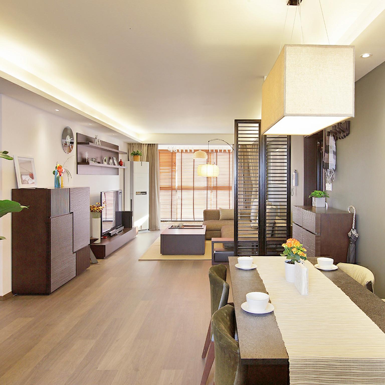 现代中式餐厅设计装潢案例