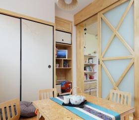 宜家风格公寓书房榻榻米设计效果图片