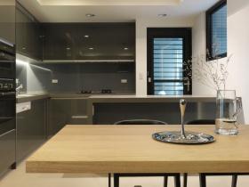 简约时尚橱柜厨房设计装潢