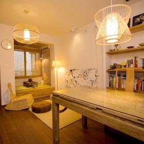 古典中式书房榻榻米装潢设计