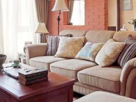 休闲贵气美式三居装潢案例