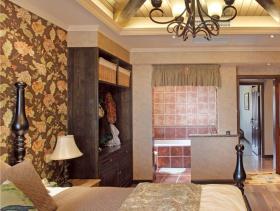 美式家居卧室吊顶效果图